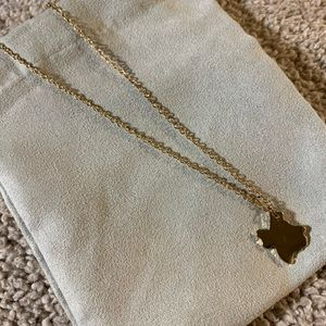 Gold plated Texas necklace